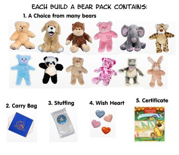 Build a Bear Packs