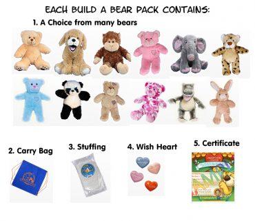 Build a Bear Packs