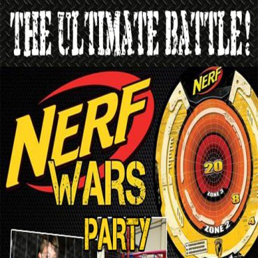 NERF Wars Events – First Friday of each month 4pm to 6pm